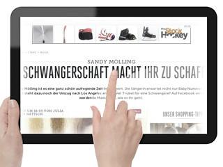 Sandy Mölling - Die Schwangerschaft macht ihr zu schaffen - BUNTE.de