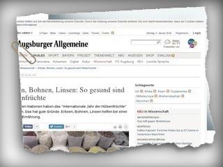 Ernährung: Erben, Bohnen, Linsen: So gesund sind Hülsenfrüchte - Augsburger Allgemeine