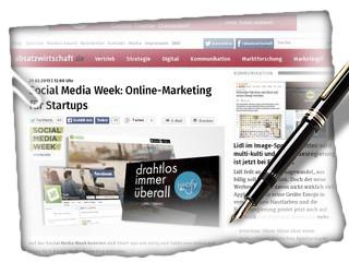 Social Media Week: Online-Marketing für Startups